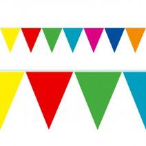שרשרת דגלים צבעונית - 10 מ'