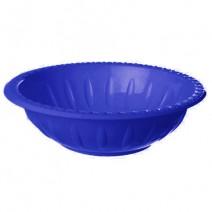 קערות פלסטיק - כחול נייבי