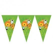 שרשרת דגלים חגיגה בג'ונגל