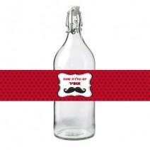 חבקים לבקבוקים שפמים - חינמי