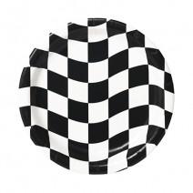 צלחות קטנות מרוץ מכוניות