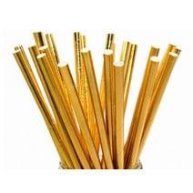 קשיות נייר זהב מטאלי