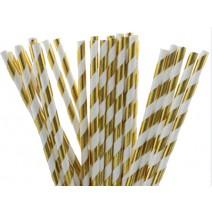 קשיות פסים זהב מטאלי