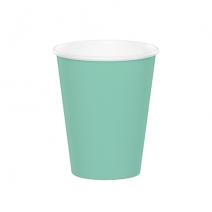 24 כוסות נייר - מנטה