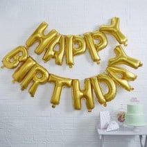 בלוני מיילר Happy Birthday