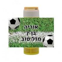 מדבקות לבועות סבון - כדורגל