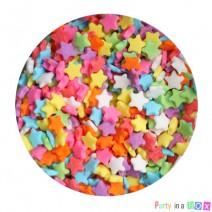 סוכריות כוכבים צבעוניים
