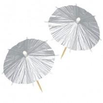 מטריות קוקטייל כסף