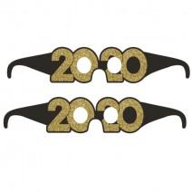 משקפי New Year 2020 זהב