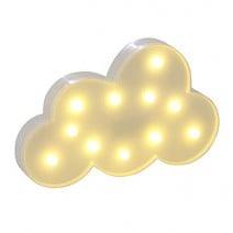 מנורת לד ענן לבן