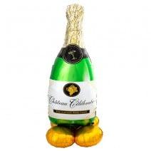 בלון איירלונז ענק בקבוק שמפניה
