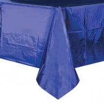 מפת שולחן מטאלית - כחול