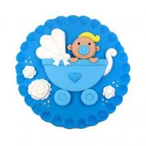 קישוט עגול לעוגה - תינוק