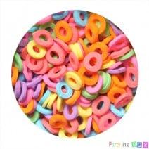 סוכריות חישוקים צבעוניים