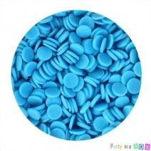סוכריות עיגולים כחולים