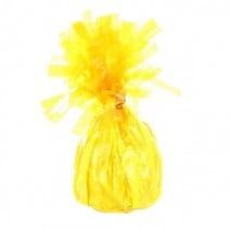 משקולת לבלונים צהוב