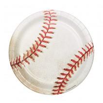 צלחות קטנות בייסבול