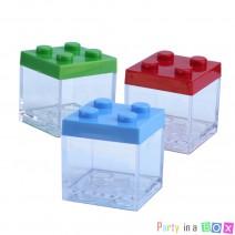 מיני קופסאות קוביות לגו