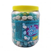 סוכריות ג'לי בינס כחול לבן