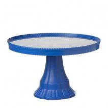 מעמד עוגה קלאסי כחול