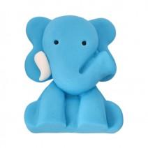 קישוט מבצק סוכר פיל כחול