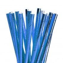 קשיות נייר כחול מטאלי