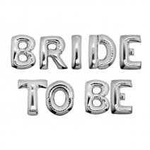 בלוני מיילר Bride to Be כסף