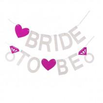שרשרת גליטר Bride to Be