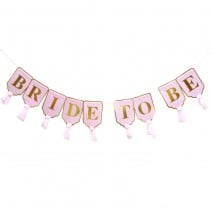שרשרת Bride to Be  ורוד זהב