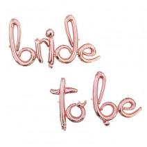 בלוני מיילר Bride to Be כתב