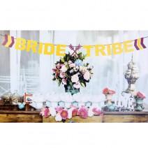 שרשרת גליטר Bride Tribe