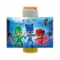 מדבקות לבועות סבון כוח פיג'יי