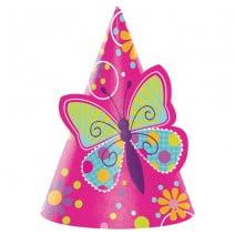 כובעי מסיבה פרפרים