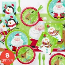 חבילה בסיסית סנטה וחברים