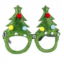 משקפיים לחג המולד - עצים