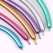 בלוני נקניק צבעי כרום