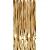 וילון פרנזים כרום זהב