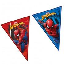 שרשרת דגלים משולשת ספיידרמן