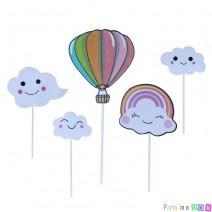 טופרים עננים וכדור פורח