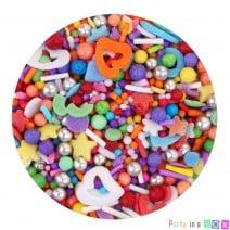 סוכריות לקישוט מיקס פנטזיה צבעוני
