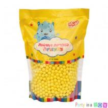 סוכריות קשות כדורים צהובים