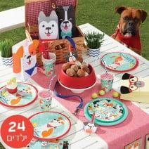 חבילה דלוקס מסיבת כלבים