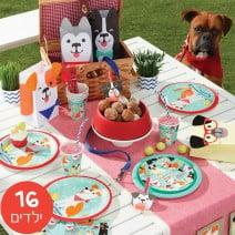 חבילה מורחבת מסיבת כלבים