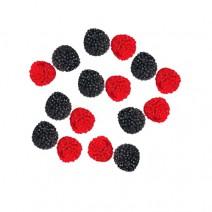 סוכריות גומי פטל אדום שחור