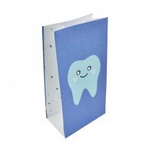 שקיות נייר שן ראשונה כחול