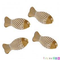 דגים זהובים לקישוט שולחן