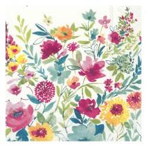 מפיות גדולות Colorful Flowers