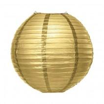 """אהיל נייר 30 ס""""מ - זהב"""