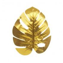 עלים טרופיים זהב