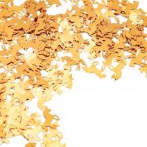 קונפטי חד קרן זהב